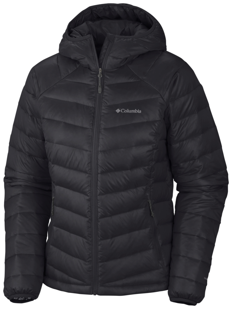 Columbia Women's Platinum 860 Turbodown Hooded Down Jacket Black-30