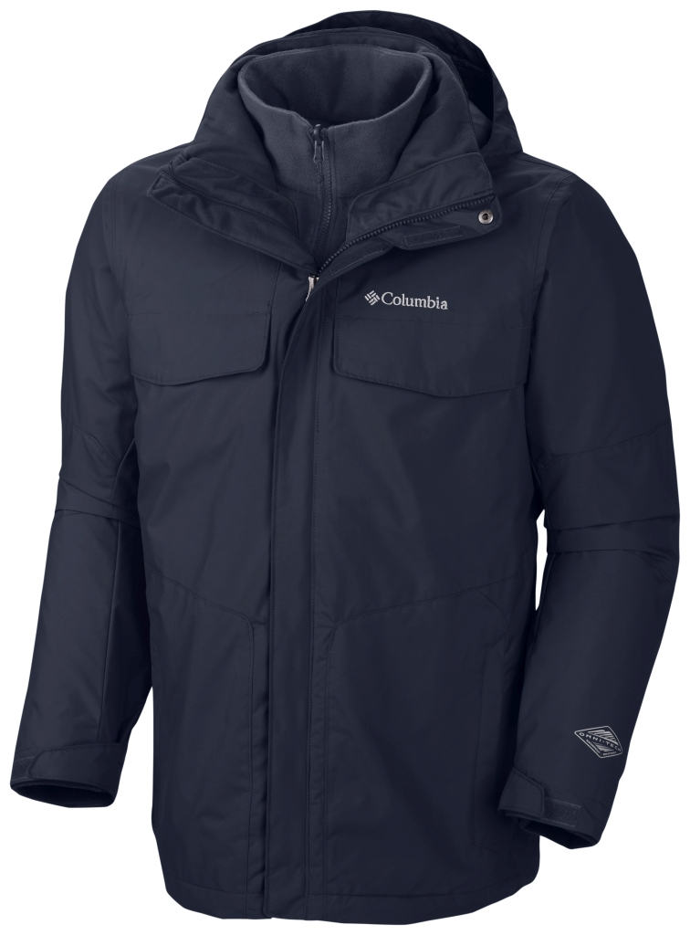 Columbia Men´s Bugaboo Interchange Jacket Collegiate Navy-30