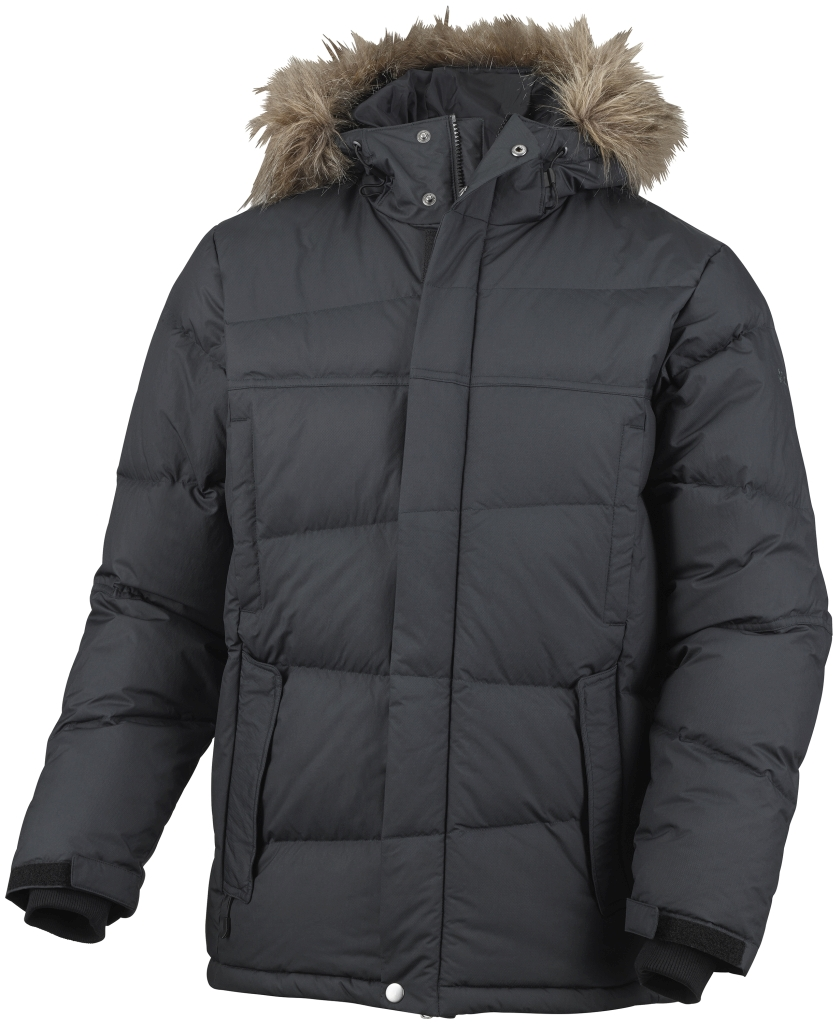 Columbia Men's Portage Glacier III Down Jacket Black-30