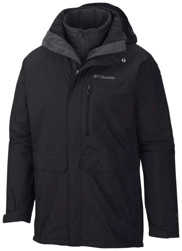 Columbia Men's Portland Explorer Interchange Jacket Black-30