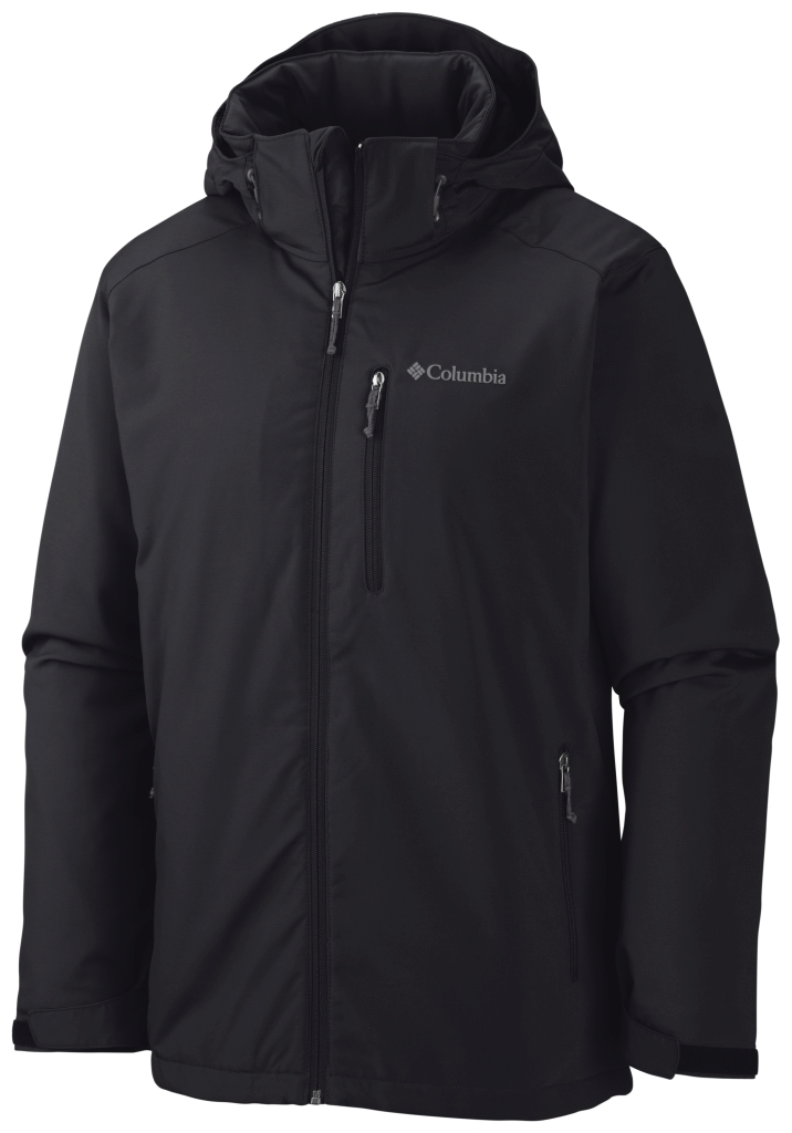 Columbia Men's Gate Racer Softshell Black-30
