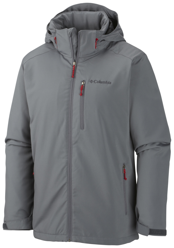 Columbia Men's Gate Racer Softshell Graphite-30
