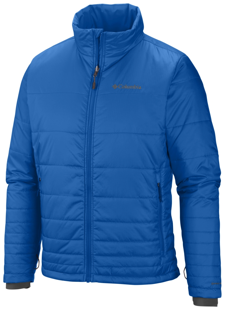 Columbia Men's Go To Jacket Hyper Blue-30