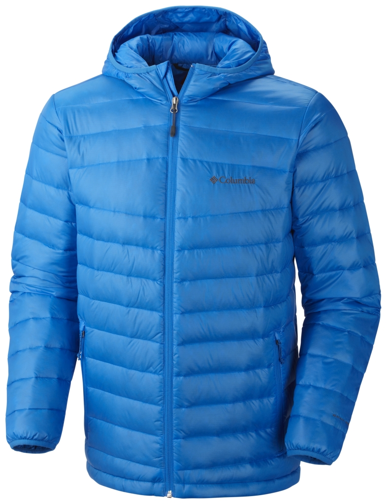 Columbia Men's Platinum 860 Turbodown Hooded Down Jacket Hyper Blue-30