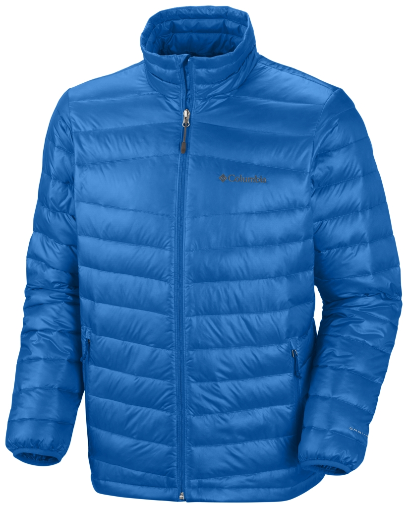 Columbia Men's Platinum 860 Turbodown Down Jacket Hyper Blue-30