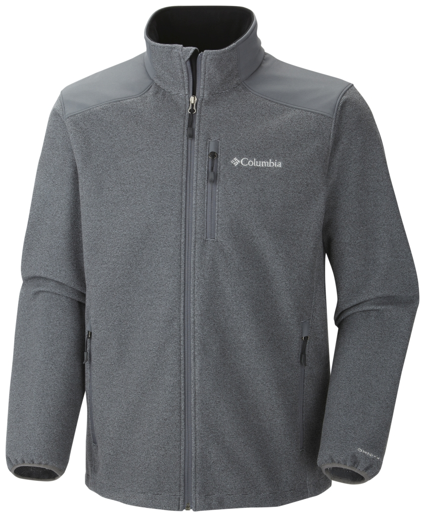 Columbia Men's Wind Protector Novelty Jacket Graphite-30