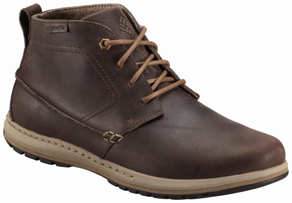 Columbia Men's Davenport Chukka Leather Boot Cordovan Prairie Sand-30