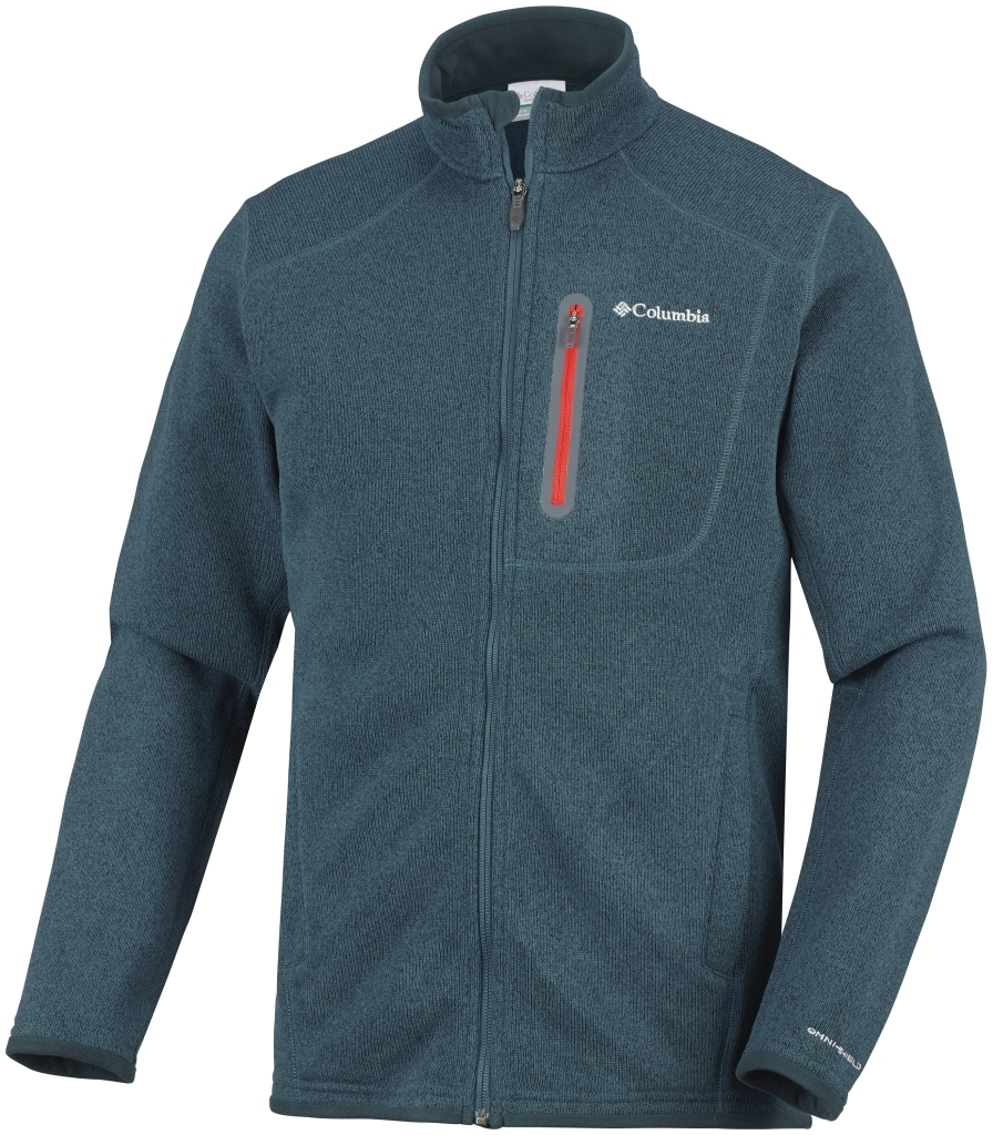 Columbia Men's Altitude Aspect Full Zip Everblue Heather-30
