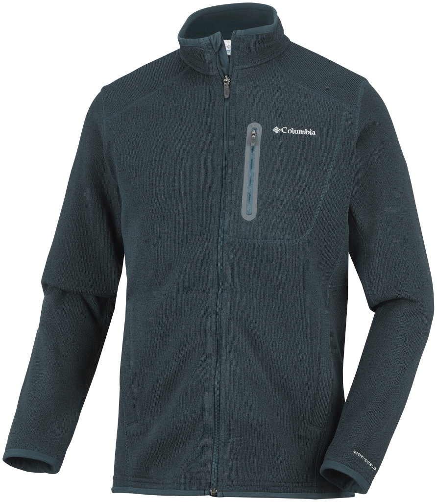 Columbia Men's Altitude Aspect Full Zip Night Shadow Heather-30