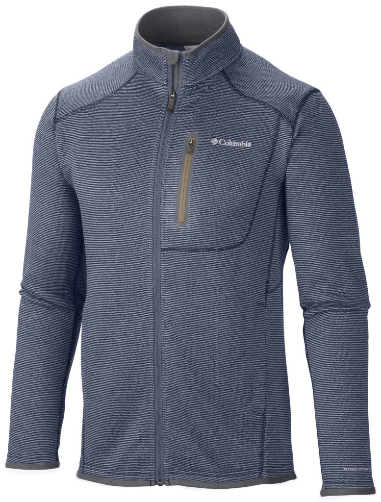 Columbia Men's Altitude Aspect Full Zip Nocturnal Heather-30