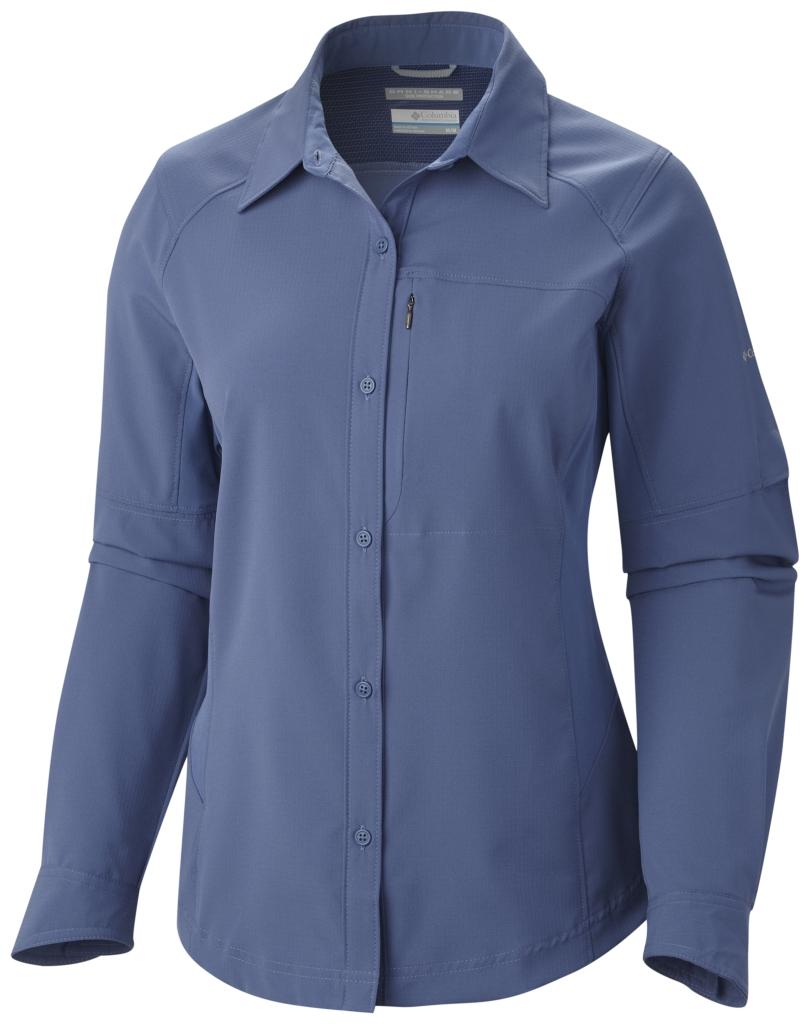 Columbia Women's Silver Ridge Long Sleeve Shirt Bluebell-30
