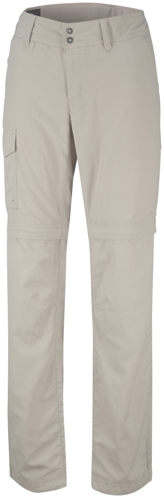 Columbia Women's Silver Ridge Convertible Pant Fossil-30