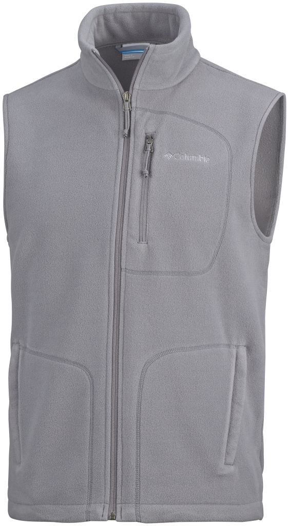 Columbia Men's Fast Trek Fleece Vest Boulder-30