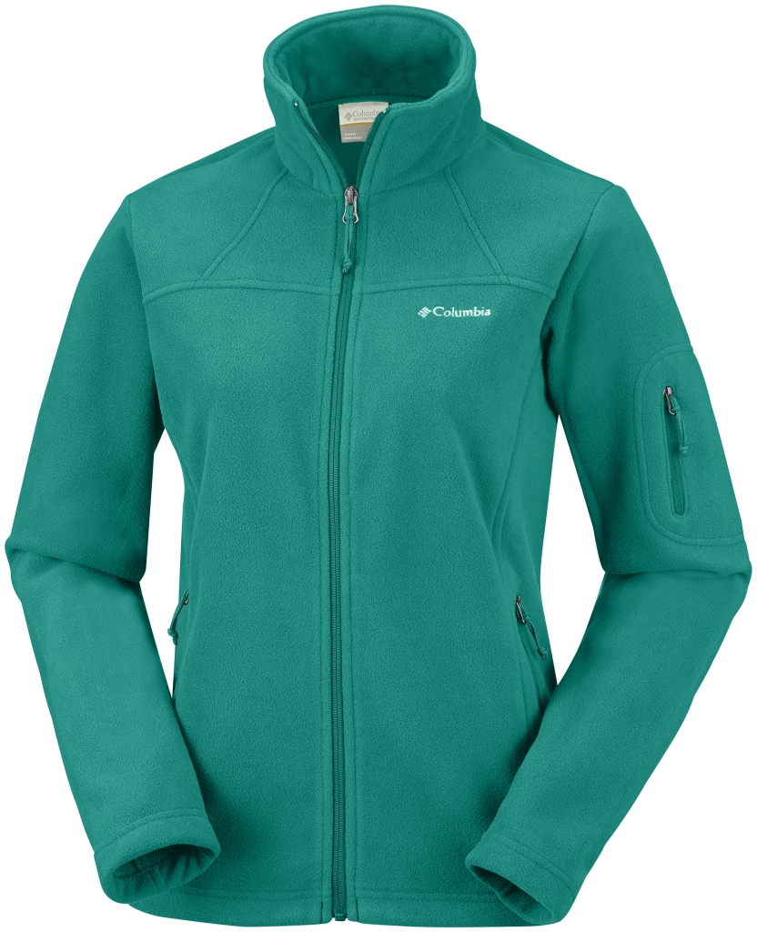 Columbia Women's Fast Trek II Jacket Emerald-30