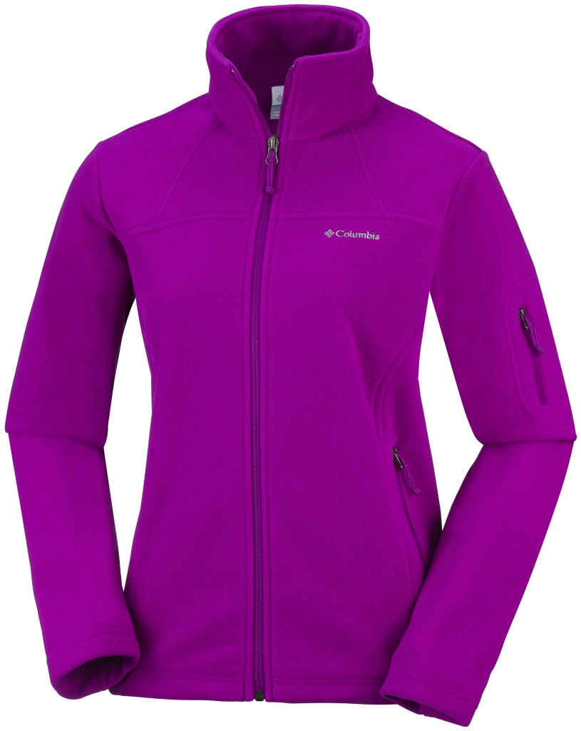 Columbia Women's Fast Trek II Jacket Bright Plum-30