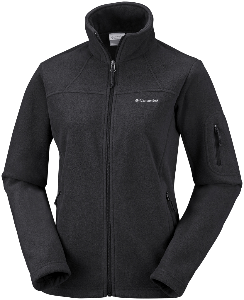 Columbia Women's Fast Trek II Jacket – Plus Size Black-30