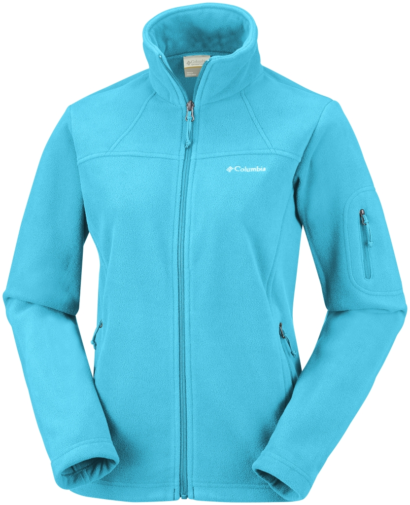 Columbia Women's Fast Trek II Jacket – Extended Size Atoll-30