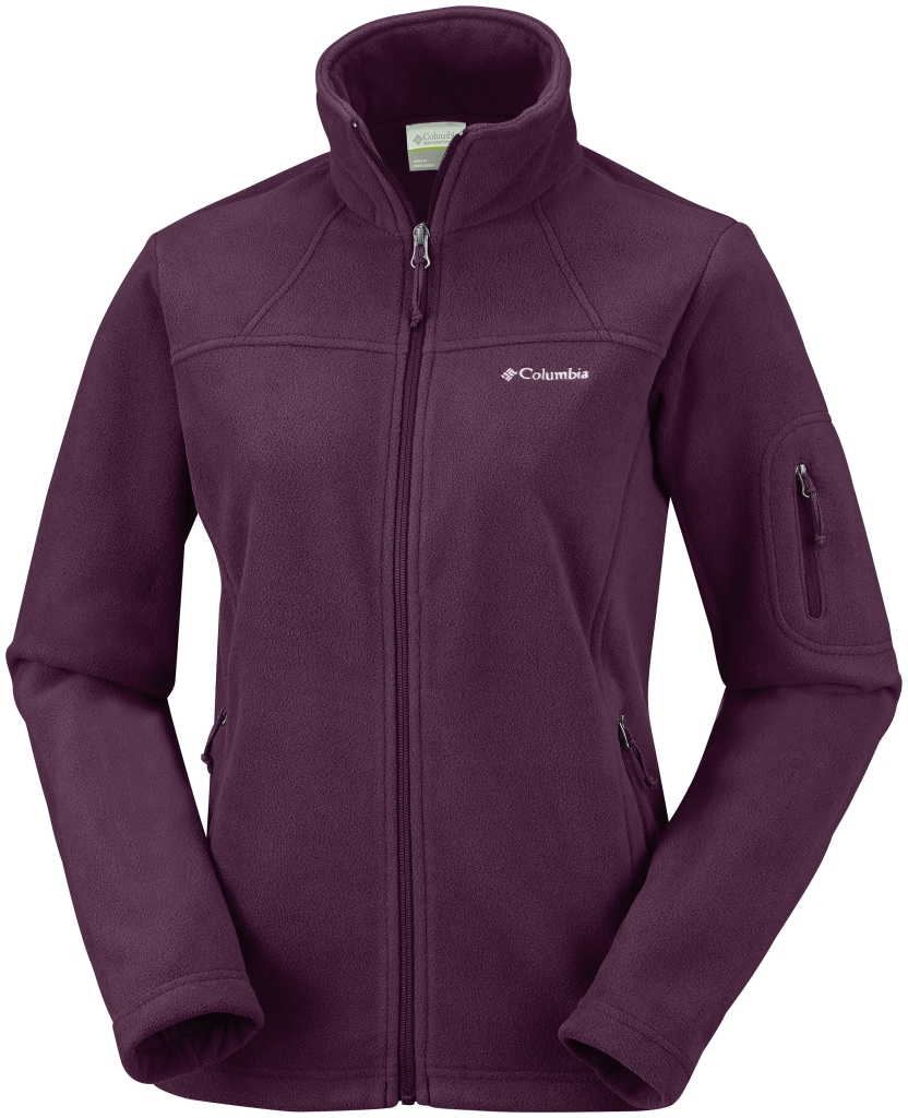 Columbia Women's Fast Trek II Jacket – Extended Size Purple Dahlia-30