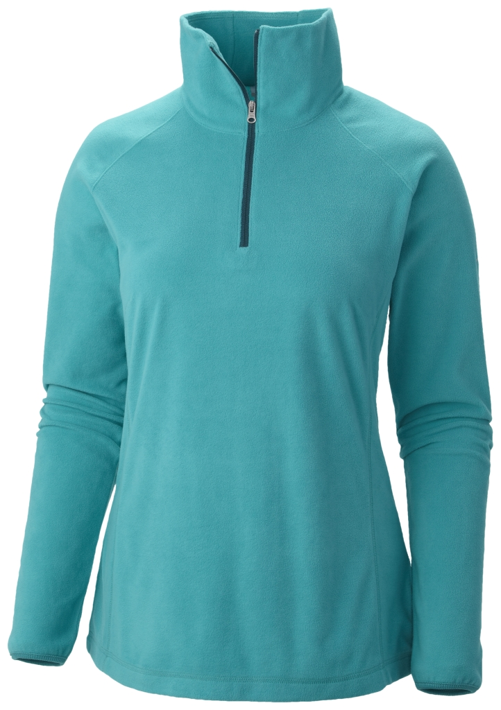 Columbia Women's Glacial Fleece III 1/2 Zip Mayan Green-30