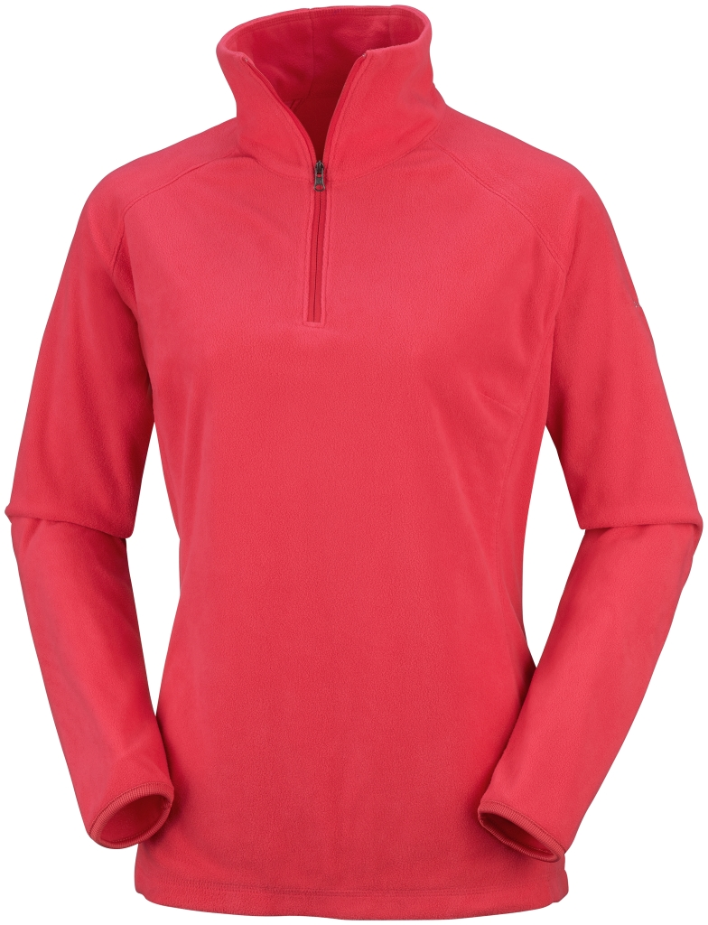 Columbia Glacial Fleece III Half-Zip Für Damen Red Hibiscus-30