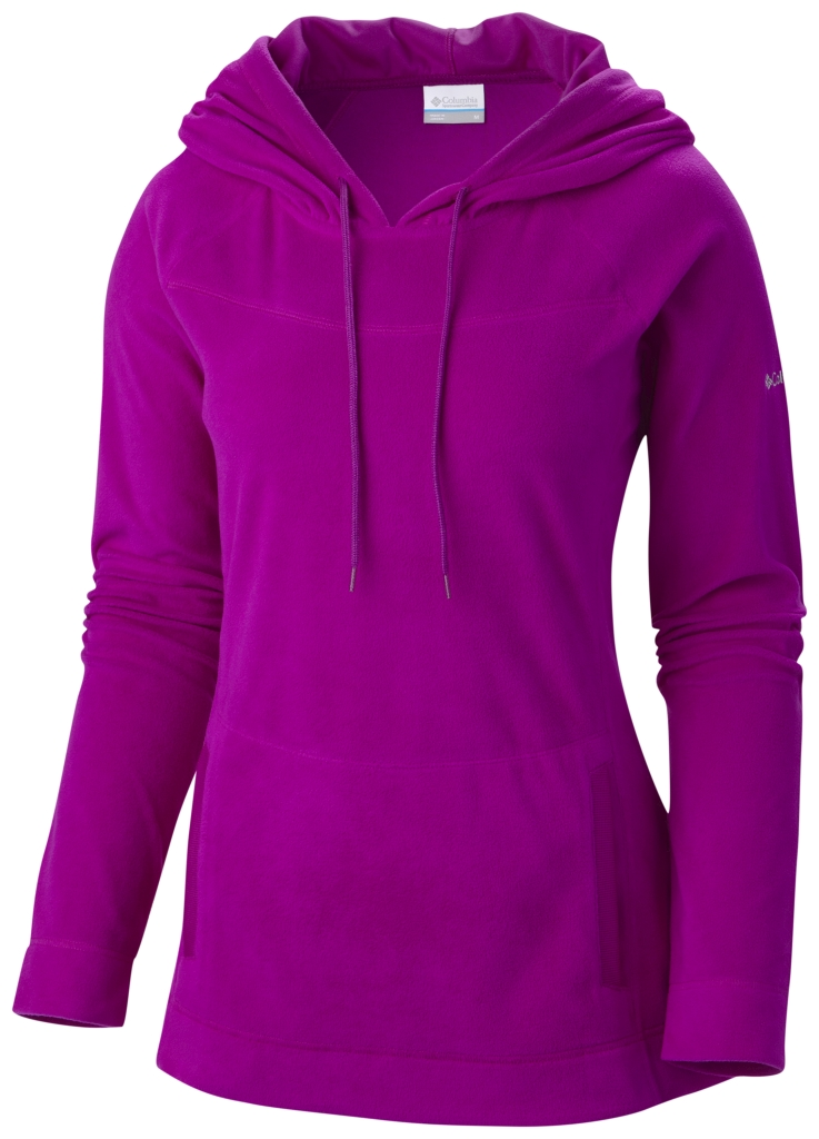 Columbia Women's Glacial Fleece III Hoodie Bright Plum-30