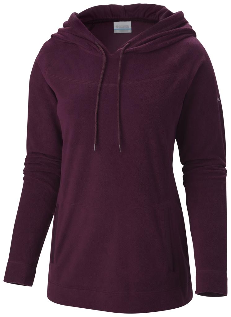 Columbia Women's Glacial Fleece III Hoodie Purple Dahlia-30