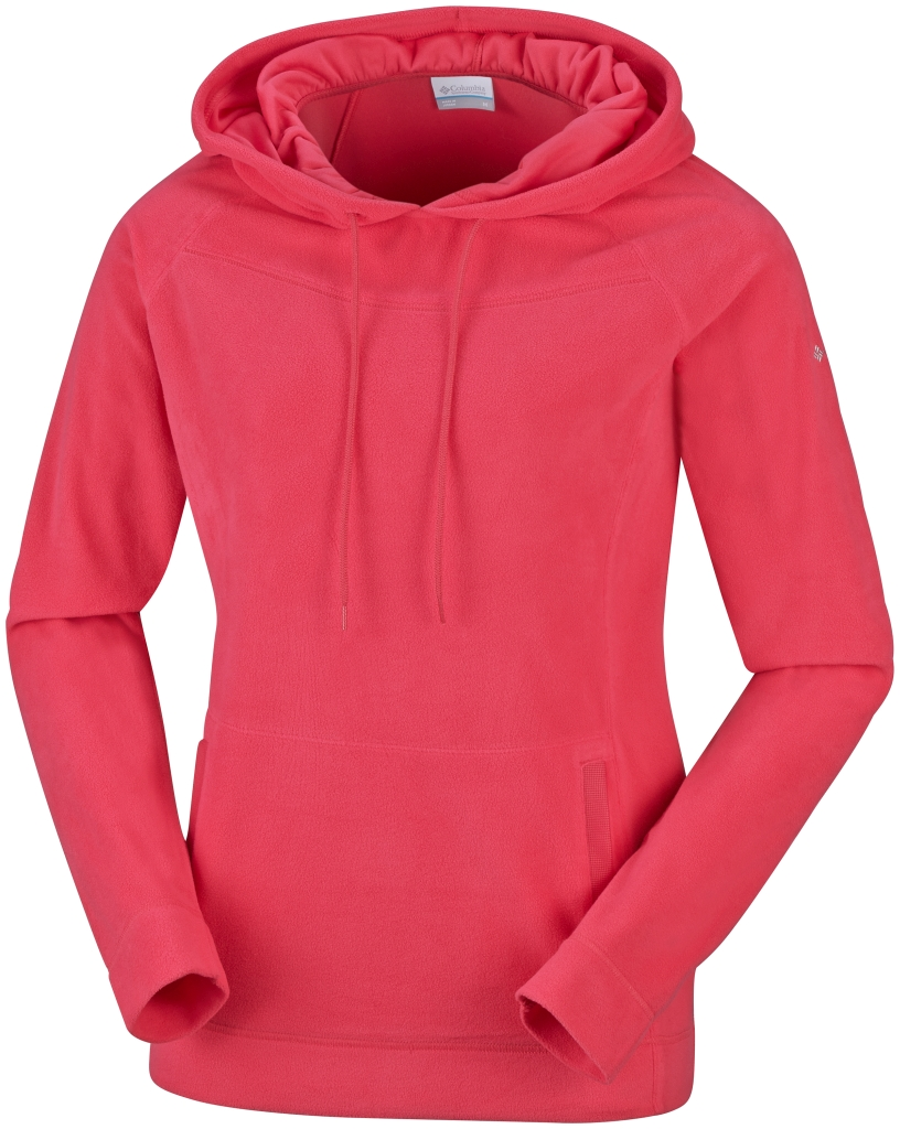 Columbia Women's Glacial Fleece III Hoodie Red Hibiscus-30
