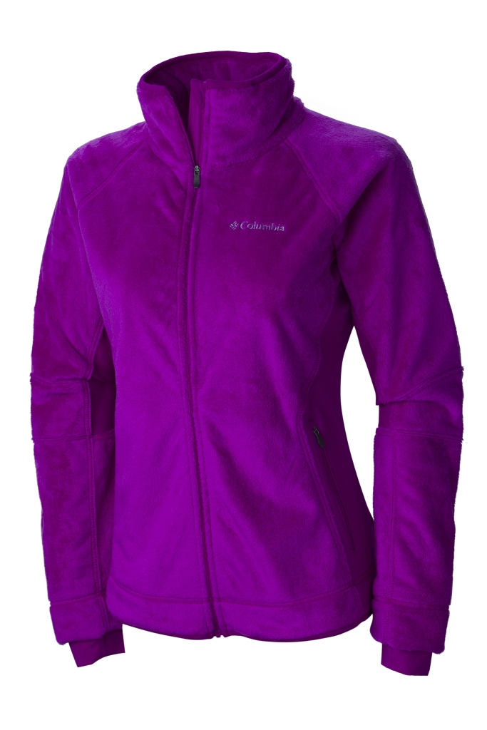 Columbia Women's Pearl Plush II Fleece Bright Plum-30