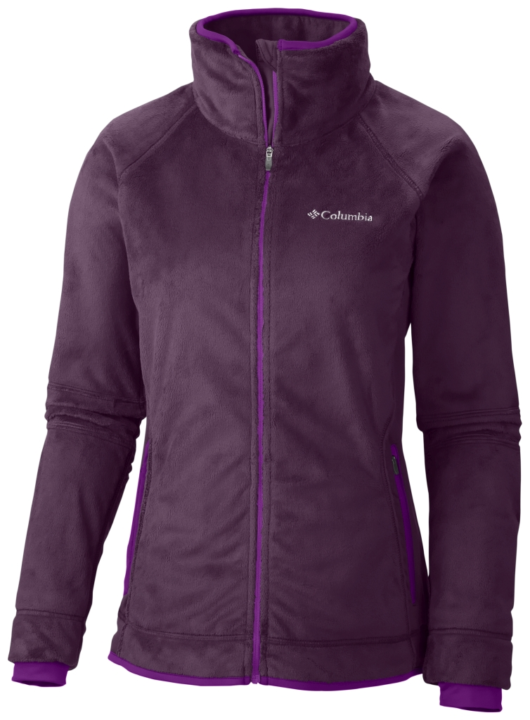 Columbia Women's Pearl Plush II Fleece Purple Dahlia Bright Plum-30