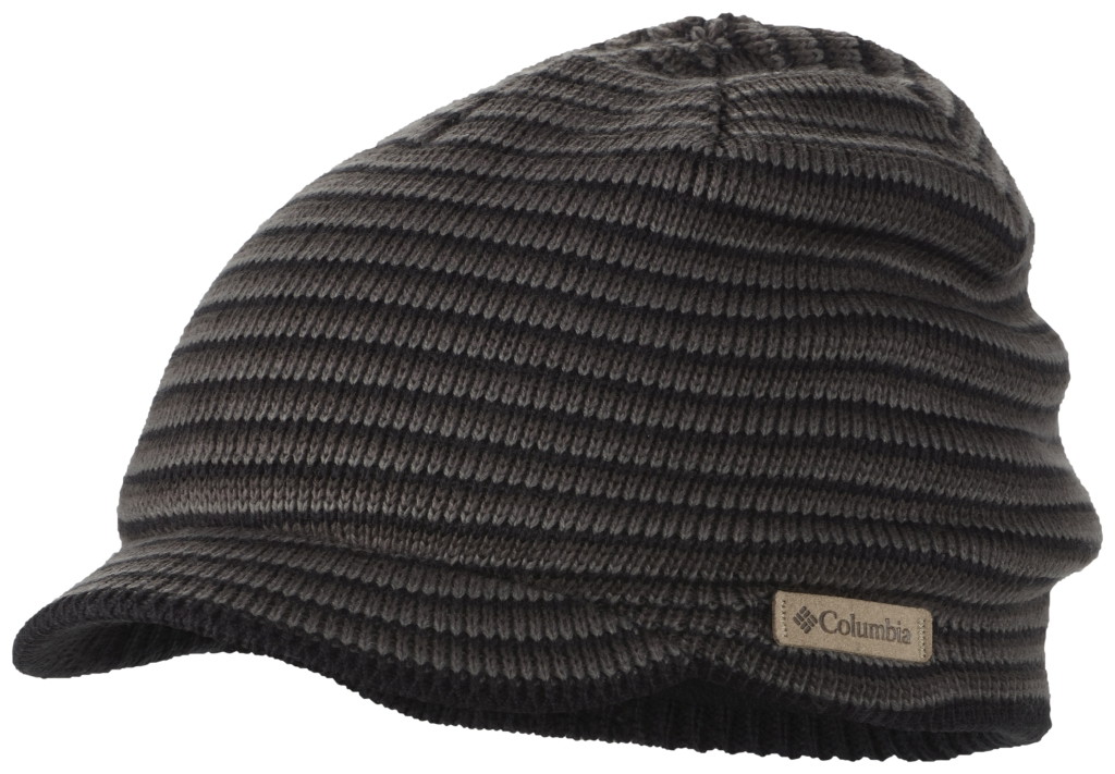 Columbia Northern Peak Visor Beanie Black Charcoal-30