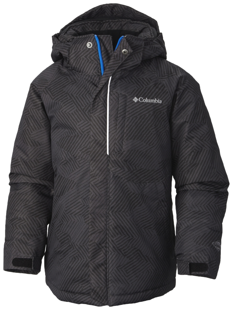 Columbia Boys' Evo Fly Jacket Black Print Black-30