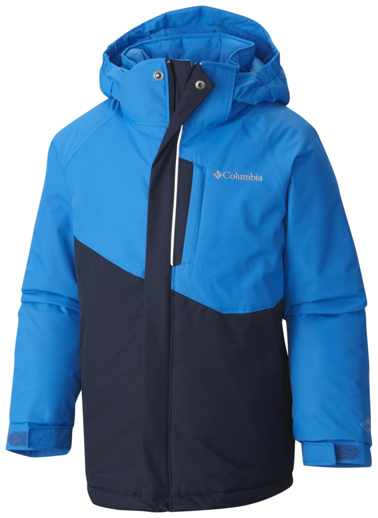 Columbia Boys' Evo Fly Jacket Hyper Blue Collegiate Navy-30