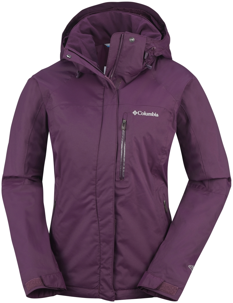 Columbia Women's Mia Monte Jacket Purple Dahlia-30