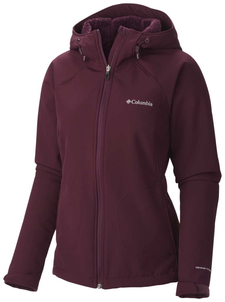 Columbia Women´s Phurtec II Softshell Purple Dahlia-30
