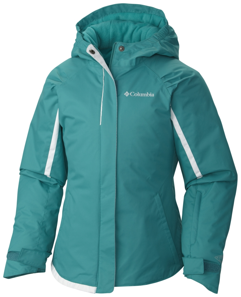 Columbia Girls' Alpine Action Jacket Mayan Green-30