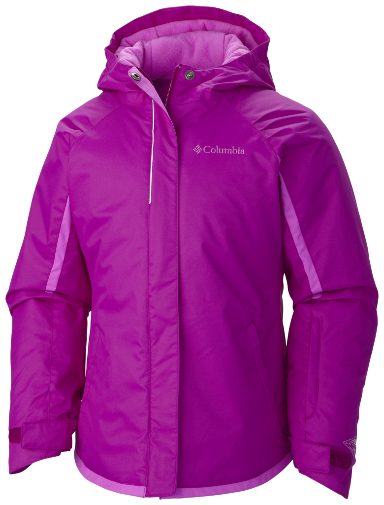 Columbia Girls' Alpine Action Jacket Bright Plum-30