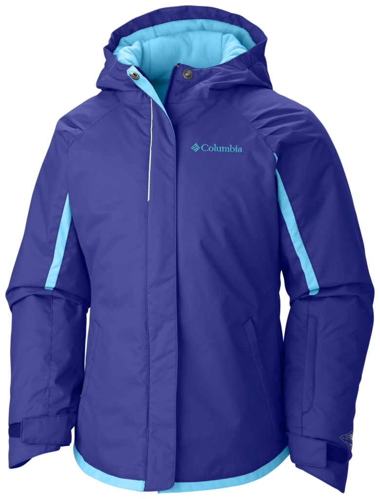 Columbia Girls' Alpine Action Jacket Light Grape-30