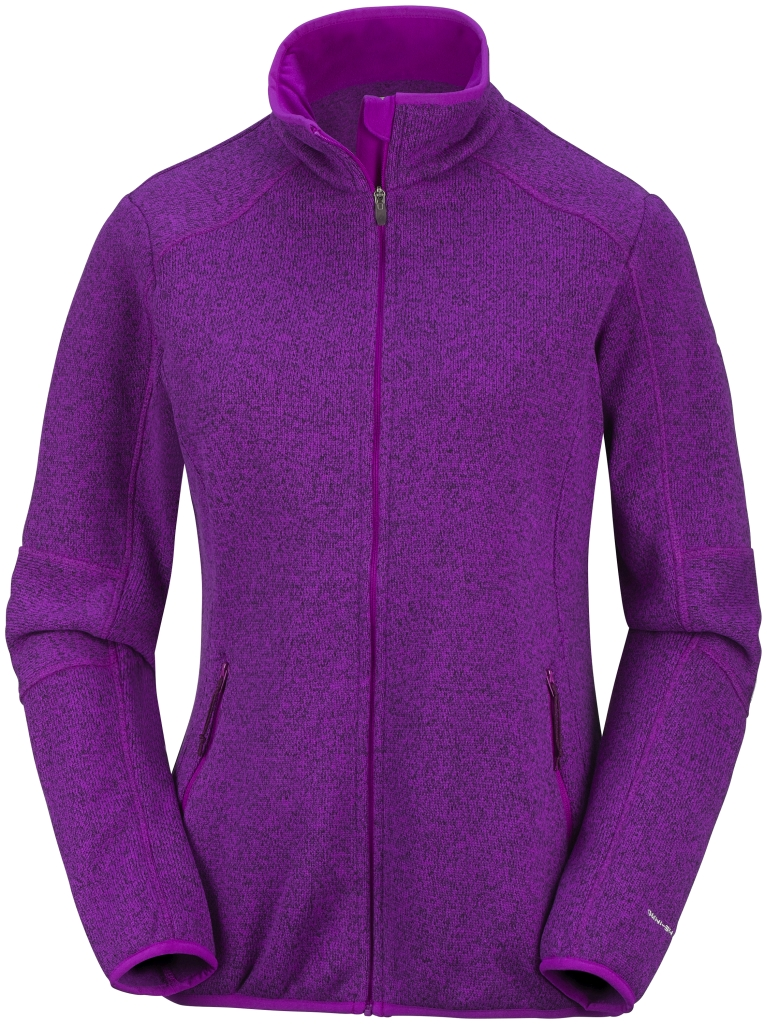Columbia Women's Altitude Aspect Full Zip  Bright Plum-30