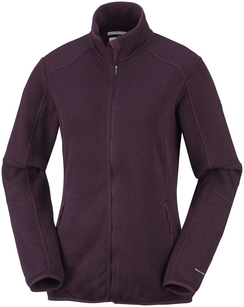 Columbia Women's Altitude Aspect Full Zip  Purple Dahlia-30