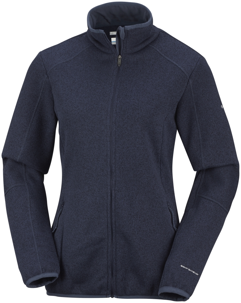 Columbia Women's Altitude Aspect Full Zip  Nocturnal-30