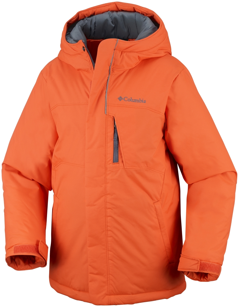 Columbia Boy's Alpine Free Fall Jacket Tangy Orange-30