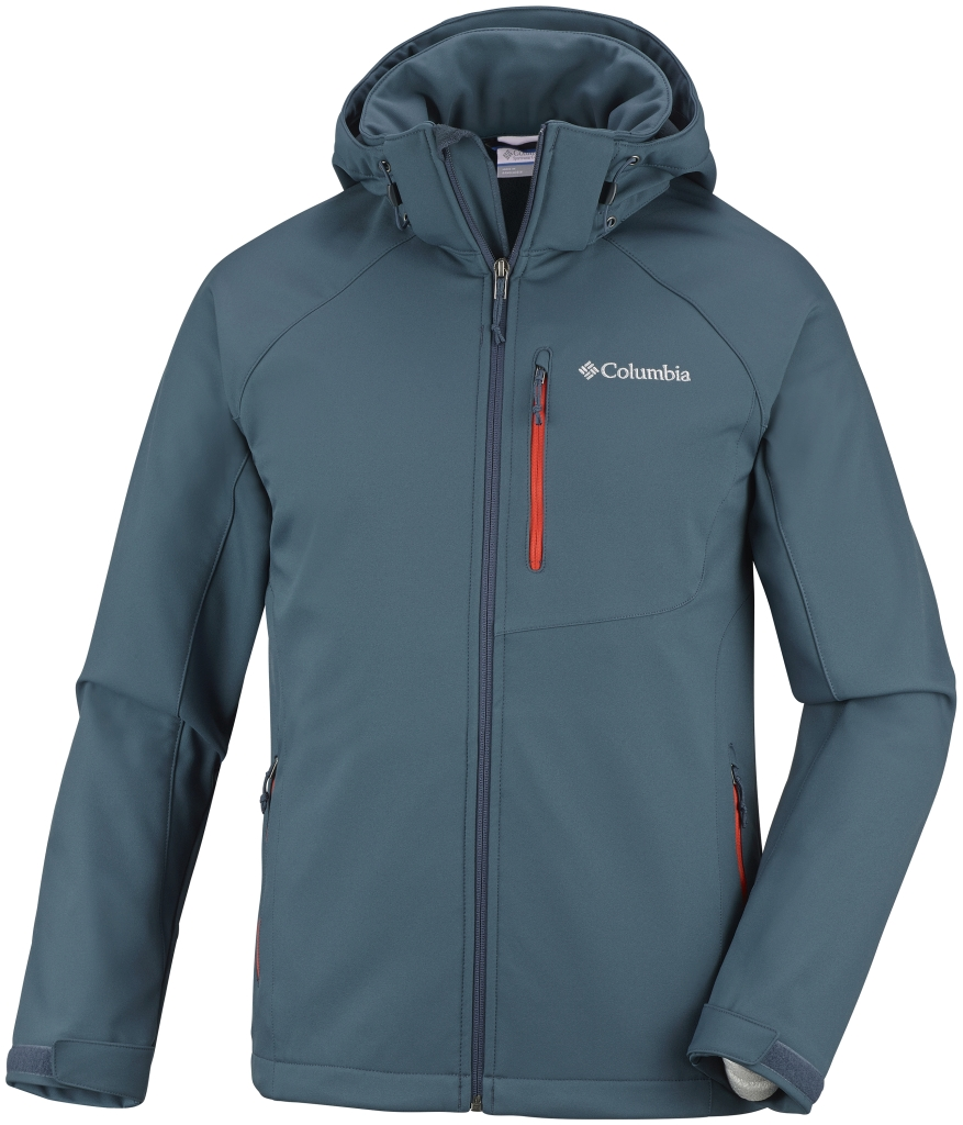 Columbia Men's Cascade Ridge II Softshell Everblue-30