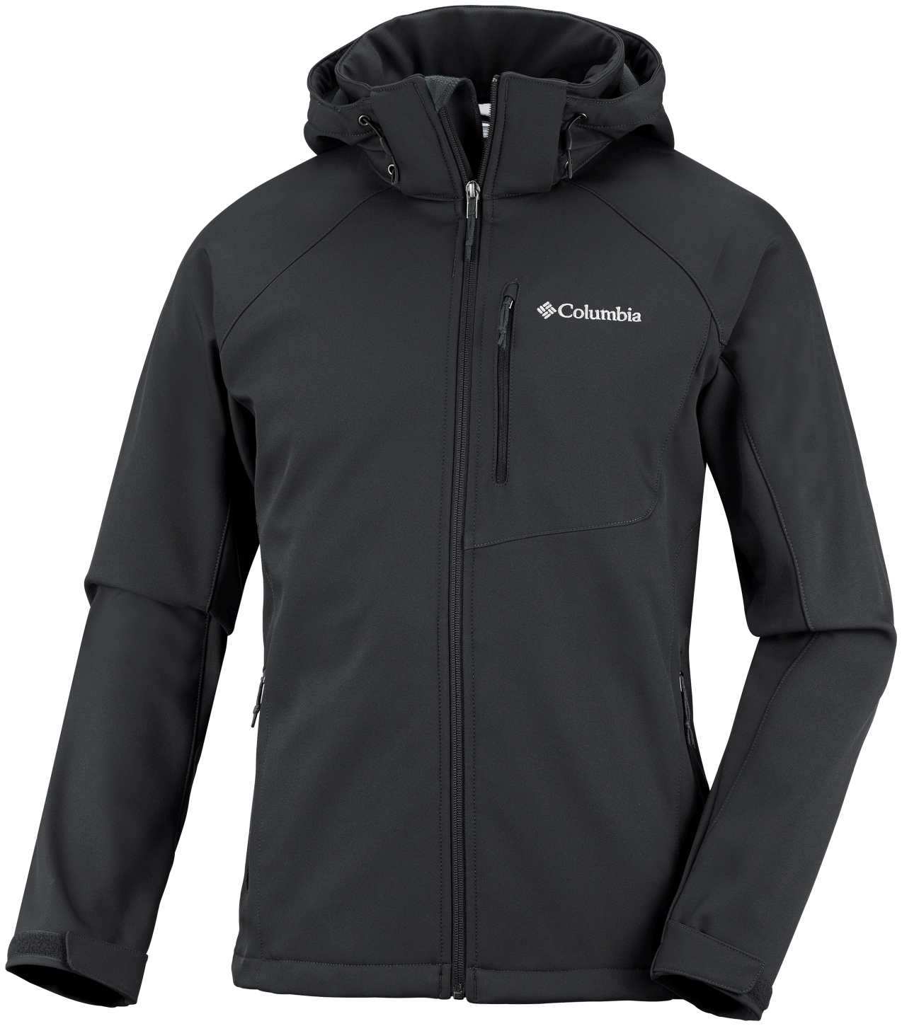 Columbia Men's Cascade Ridge II Softshell Top Black-30
