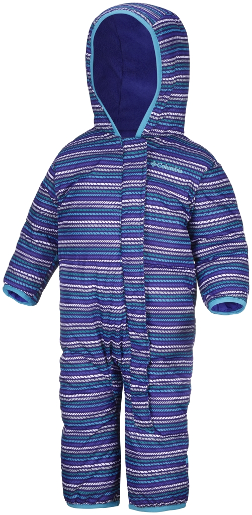 Columbia Snuggly Bunny Bunting Infant Light Grape Stripe-30