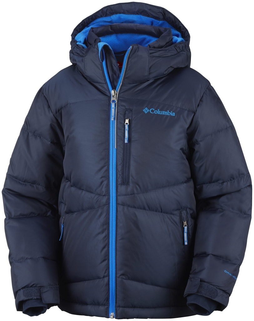 Columbia Boys' Space Heater II Jacket Collegiate Navy Hyper Blue-30