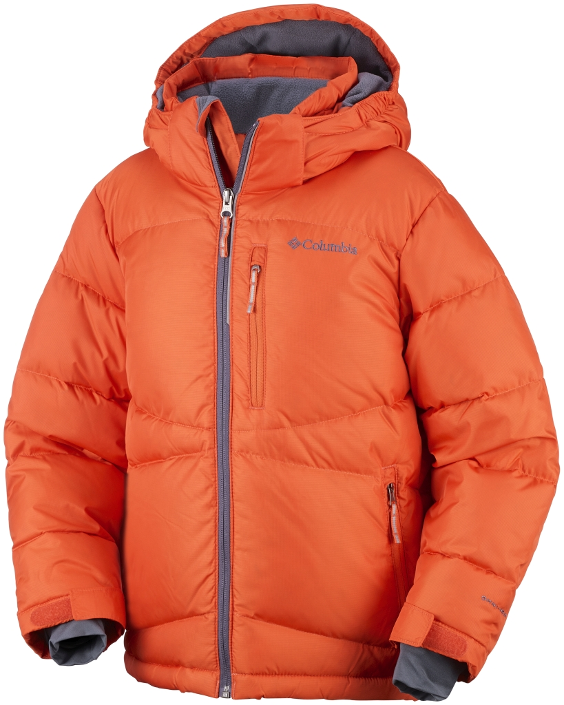 Columbia Boys' Space Heater II Jacket Tangy Orange-30