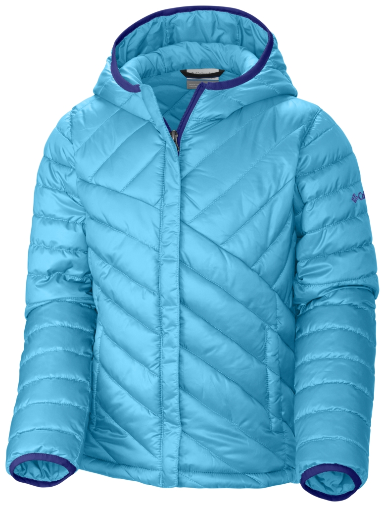 Columbia Girls' Powder Lite Puffer Atoll-30