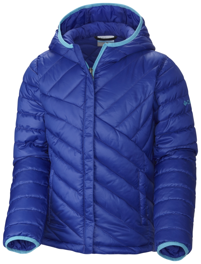 Columbia Girls' Powder Lite Puffer Light Grape-30