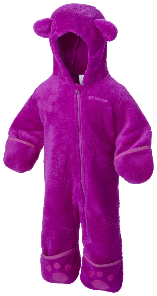 Columbia Foxy Baby II Bunting Infant Bright Plum-30