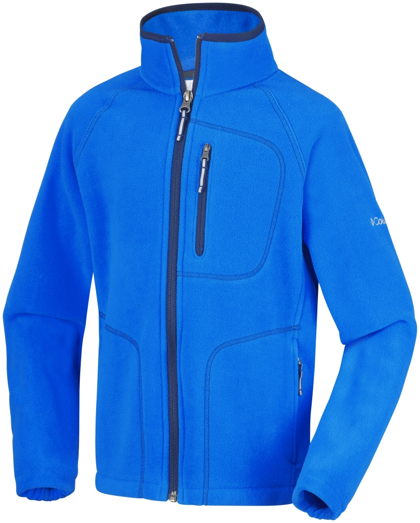 Columbia Youth Fast Trek II Full Zip Hyper Blue-30